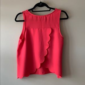 The Impeccable Pig Tops - The Impeccable Pig Coral Dress Tank